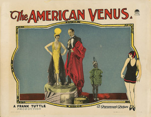 Lobby Card - The American Venus